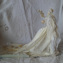 Wire and papier mache Sculpture - Ophelia