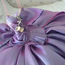 Mixed Media Assemblage Art Dress - Scarlett O'Hara