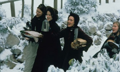 Little Women in the snow