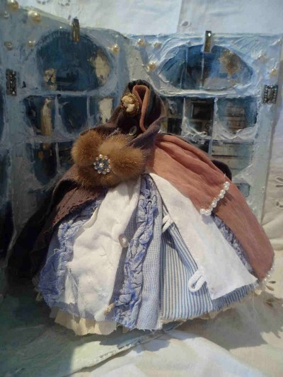 assemblage art dress
