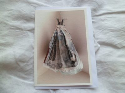 The Dress greetings card by MesssieJessie