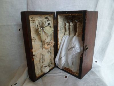 Art Assemblage story box - Once Upon A Time by MesssieJessie