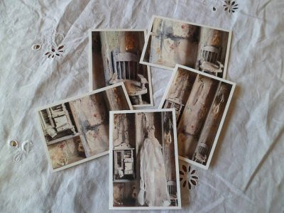 The Dolls house pack of five greetings cards by MesssieJessie